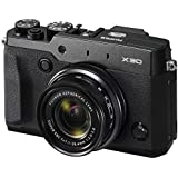 Fujifilm X30 12 MP Digital Camera - Black