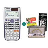 Casio FX-991DE Plus + Geometrie-Set + Lern-CD (auf Deutsch)