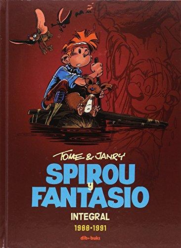Spirou y Fantasio Integral 15: Tome y Janry (1988-1991) por Tome