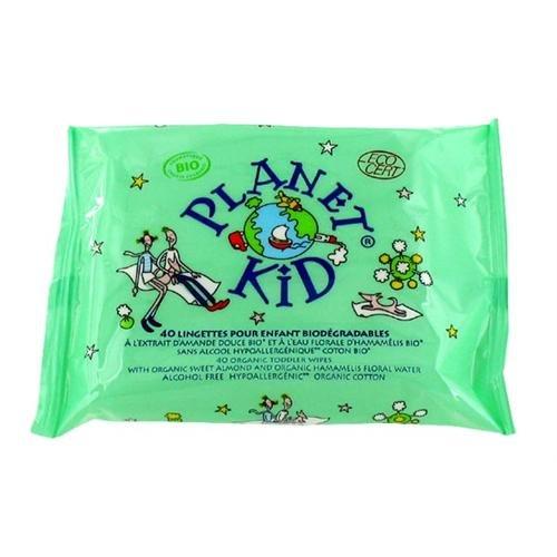 Planet Kid 40 Lingettes Enfants Amande Douce Hamamélis