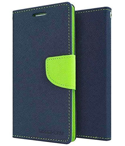 MOBICLONICS Front and Back Protection Flip Cover for Samsung Galaxy J7 Nxt(Blue)