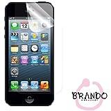 Brando UltraClear Ultra-Clear Displayschutzfolie Display Schutz Folie Schutzfolie für Apple iPhone i-Phone 5 iPhone 5G iPhone5 New iPhone