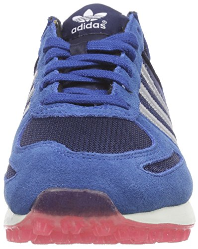adidas La Trainer, Baskets Basses Femme Bleu (Dark Marine/Matte Silver/Collegiate Navy)