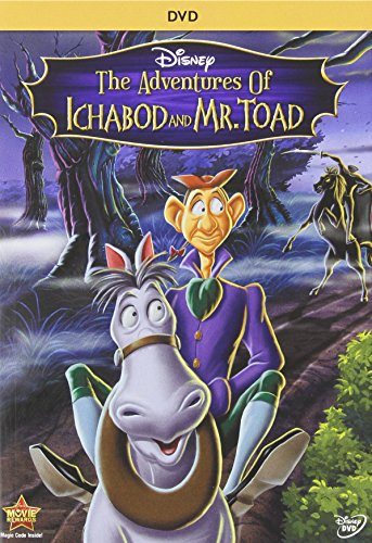 Adventures of Ichabod & Mr Toad [USA] [DVD]