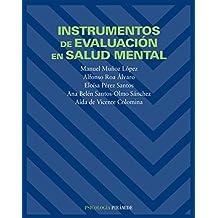 Instrumentos de evaluación en salud mental (Psicología)