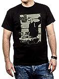 Makaya Vintage T-Shirt Noir Homme BULLITT Taille S-XXXL