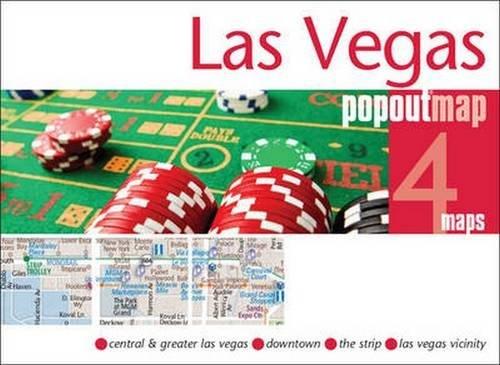 Las Vegas PopOut Map: Handy pocket size pop up city map of Las Vegas (PopOut Maps)