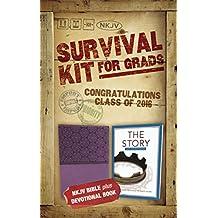 Survival Kit for Grads 2016: NKJV Bible Plus Devotional Book, the Story Devotional