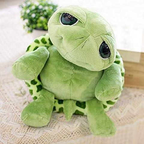 Edealing (TM) Lovely Big Eyes Petite tortue Doll Baby Toy Cute Doll Jouets en peluche pour enfants