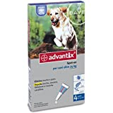 Advantix Spot On Pesticide 4 pipettes For Dogs Over 25kg