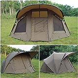 Quest MK2 2 Tente de Bivouac de pêche à la carpe colonne d'eau 10000 mm Bivvy Bivy – Tente de camping - Grand 2 man personne places