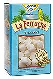 La Perruche weißer natürlicher Würfel Rohrzucker 750 Gramm