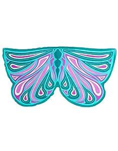 DREAMY DRESS-UPS 62317Verde Fortune alas de Hada para niña (Talla única)