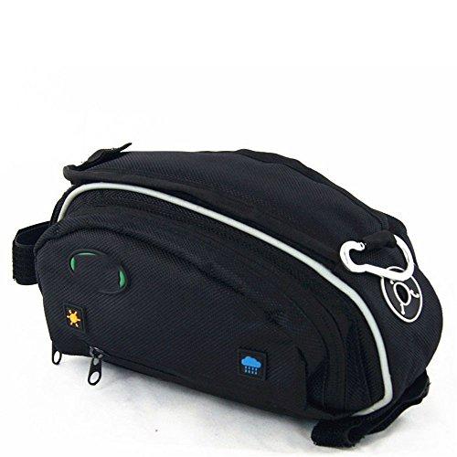 Liergou Universal Fitting Outdoor Regendicht MTB Rennrad Zubehör Sattelstütze Tasche Schwanz Hinten Tasche Fahrrad Tasche Fahrrad Satteltasche