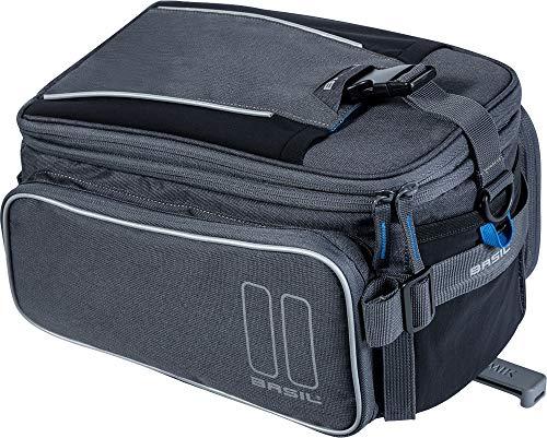 Basil Sport Design MIK Trunkbag, Graphit, 7-15 Liter -