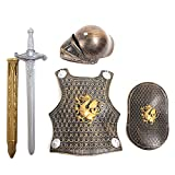 Molie–Set de Caballero Medieval para Disfraz de Halloween Europa Retro Estilo Guerreros Uniformes
