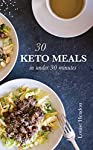 Enjoy the benefits of a ketogenic diet rather than slaving in the kitchen all day long!With this keto cookbook, you'll be able to get dinner on the table super quick.Every recipe takes 30 minutes or less from start to finish - some are much quicker!W...
