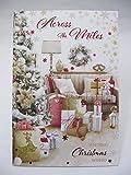 Unbekannt Wunderbare Bunte Across The Miles Weihnachten Grußkarte