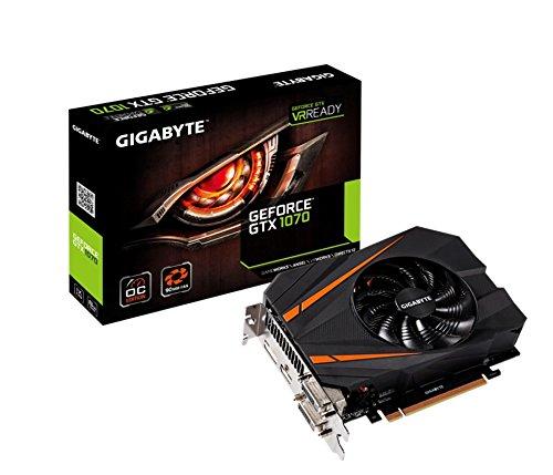 Gigabyte GV-N1070IXOC-8GD GeForce GTX 1070Mini ITX OC - Scheda grafica, 8GB GDDR5