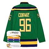 aflgo Conway 96Enten Hockey Jersey enthalten Set Armbänder XXXL FC Schalke 04, grün