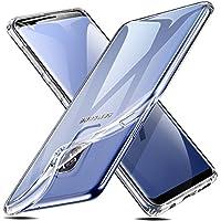 ESR Cover Samsung Galaxy S9 [Supporta la Ricarica Wireless], Custodia Trasparente Morbida TPU [Ultra Leggere e Chiaro] Silicone Ultra Sottile Case per Samsung Galaxy S9.