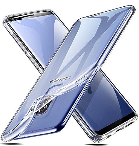 Cover Samsung Galaxy S9 [Supporta la Ricarica Wireless], ESR Custodia Trasparente Morbida TPU [Ultra Leggere e Chiaro] Silicone Ultra Sottile Case per Samsung Galaxy S9.