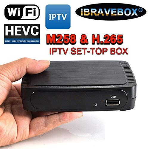 RONSHIN IBRAVEBOX M258 H.265 Linux IPTV-Smart-Set-Top-Box f¨¹r Stalker Faster MAG250 / 254 US-Stecker K5Elektronisch Flv Mov Converter