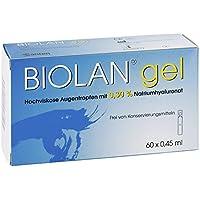 Biolan Gel Augentropfen 60X0.45 ml preisvergleich bei billige-tabletten.eu