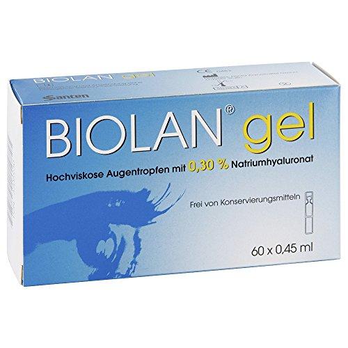 Biolan Gel Augentropfen 60X0.45 ml
