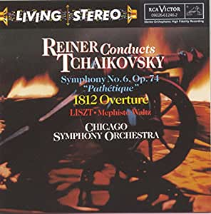 Living Stereo - Reiner conducts Tchaikovsky: Sinfonie Nr. 6 u.a.