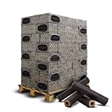 PALIGO Holzbriketts PiniKay Mischholz Buche Eiche Nadelholz Kamin Ofen Brenn Holz Heiz Brikett 10kg x 96 Gebinde 960kg / 1 Palette Heizfuxx