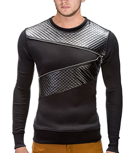betterstylz-risentobz-zip-sweat-shirt-fermeture-eclair-manches-longues-uni-homme-s-xl