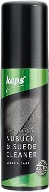 Kaps Detergente per Nabuk e Pelle Scamosciata con Applicatore Spazzola, Shampoo per Tutti i Colori, 75 ml - 2.53 fl. oz.