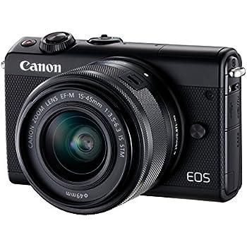 Canon EOS M100 Appareil Photo Hybride + EF-M 15-45mm F/3.5-6.3 is STM - Noir