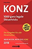 Konz: 1000 ganz legale Steuertricks - Franz Konz