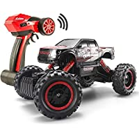 FSTgo® RC Car Rock Crawler 2.4Ghz 4WD 1/14 Off-Road Electric Racing Truck Toy for Kids with LED Headlights - Compare prices on radiocontrollers.eu