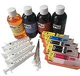 EPS nachfüllbar Essbarer Tinte Patrone Kit (INC Tintenpatronen und 400ml Essbarer Tinte) Canon iP7250MG5650MG5550