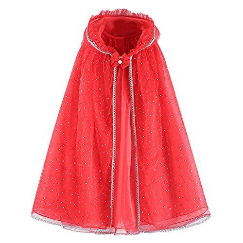 DIASTR Kinder Langarm Prinzessin Mädchen Kostüm Cosplay Phantasie Party Hochzeitskleid Cape Performance Kostüm Cosplay Rock Kleinkind Kleider Outfits Kleidung 3-12 Jahre - Machen Blumentopf Kostüm