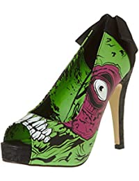 Iron Fist Shoes - Zombie Stomper Platform UK 8 / Green