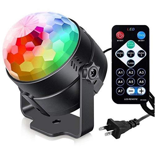 Scallop Fern RGB Crystal Rotierenden Ball Bunte Bar Party Bühneneffekt Licht Bühnenlampen Crystal Scallop