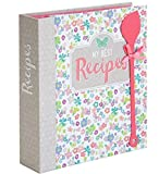 Rezept Ordner A5 'My best Recipes' Register 40 Rezeptkarten Sammlung DIY Blumen