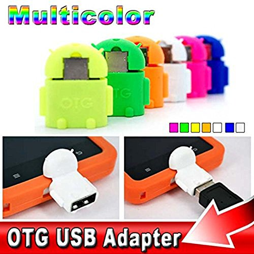 SR Global Android Shaped OTG Connector USB On-The-Go OTG Adapter 3.0, OTG Connector for Mobiles, Tablets and Smartphones Like One Plus/Xiaomi / Lenovo/Samsung etc Model 138243
