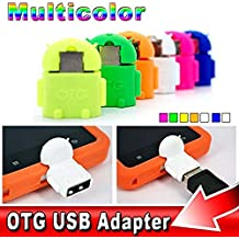 Global Craft Android Shaped OTG Connector USB On-The-Go OTG Adapter 3.0, OTG Connector for Mobiles, Tablets and Smartphones Like One Plus/Xiaomi/Lenovo/Samsung etc Model 121303