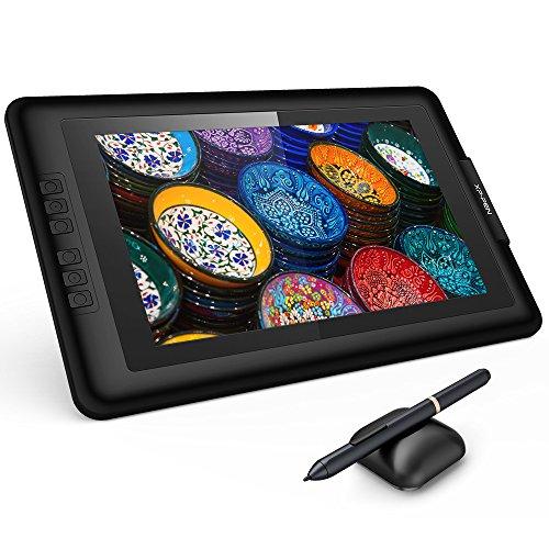 """XP-Pen Artist13.3 IPS 13.3"""" Drawing Pen Display Grafikmonitor Zeichentablett mit Batteriefrei Stylus (Artist 13.3, Schwarz)"""