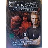 Stargate Kommando SG 1 - Die Auserwählten/Im Reich des Donnergottes/Die Qualen des Tantalus - Die DVD Sammlung 3
