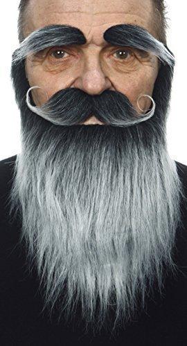 ßer mittelalterlicher Königs fälschen, selbstklebend Bart, Schnurrbart und Augenbrauen (Mittelalterliche Perücken)