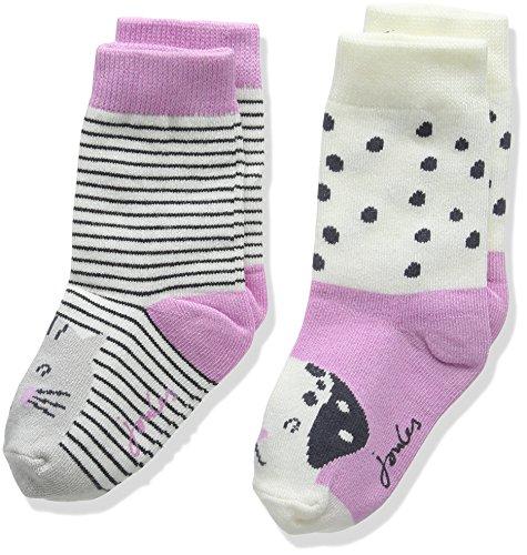 en Socken, Baby girls character socks , Gr. S (Herstellergröße: Size 0-6), Multicoloured (Dog) (Dalmatiner-baby-kleidung)