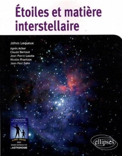 Etoiles et matire interstellaire