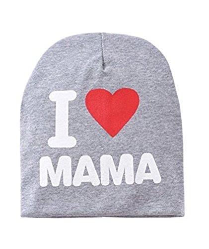 Tfxwerws-1PC-moda-bambino-neonato-bambino-cappello-a-maglia-inverno-caldo-cotone-Lycra-Cap-grigio