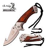 Couteau de poche Pliant Elk Ridge Camping Randonnee ouverture rapide assister # ER-A007SW